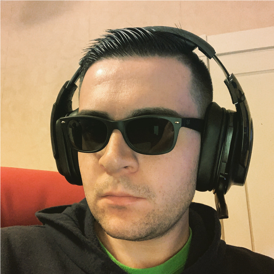 Braeden in sunglasses